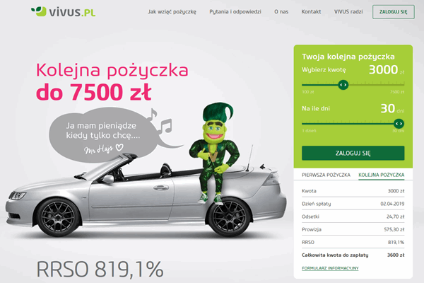 Vivus Resko  zadzwoń 600 111 551