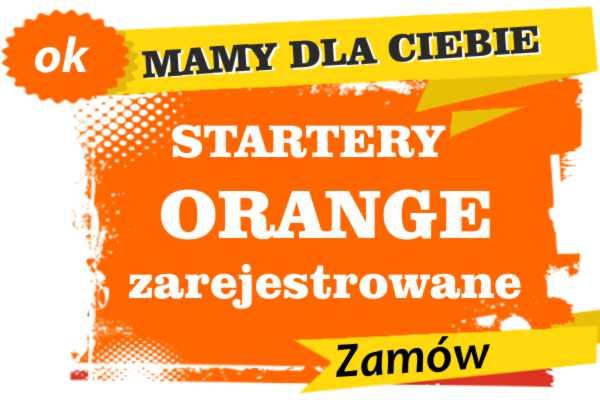 Sprzedam zarejestrowane karty sim orange warmińsko-mazurskie  zadzwoń 887 332 665